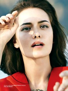 Fahriye Evcen by Olaf Wipperfurth for Vogue Turkey September 2013
