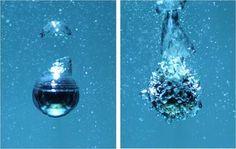Detienen a las burbujas en un líquido en ebullición.