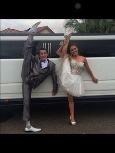 Dancers at prom...