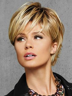 Hairdo Textured Fringe Bob Heat Friendly Synthetic Wig Final Sale, Glazed Hazelnut Plus Bob Hairstyles For Fine Hair, Short Hairstyles For Women, Cool Hairstyles, Pixie Haircuts, Hairstyle Ideas, Synthetic Wigs, Textured Hair, Hair Pieces, Short Hair Cuts