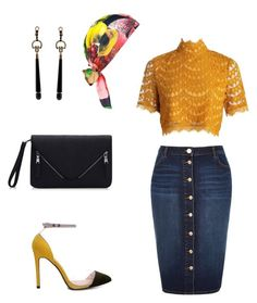 """""""Untitled #89"""" by inspiredangel on Polyvore featuring River Island, Eugenia Kim and Gucci"""