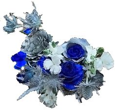 Silver Flowers | Buy Silver Flowers Online | Silver Rose | Silver Thistle