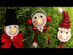 Snowman Tea Light Christmas Ornaments - The Cutest DIY!, My Crafts and DIY Projects