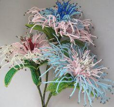 french beaded flowers ebay | Fun is always in style.