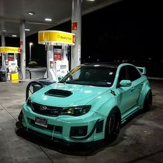 #Subaru #Sti #Modified #Wide_Body #Slammed