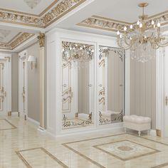 👌🏻 Elegant Interior Design, Home Interior Design, House Design, Mansion Interior, Luxury Home Decor, Luxury Homes Interior, Floor Design, House Interior, Luxury Interior Design