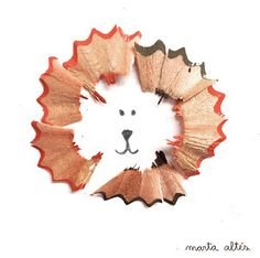 These simple yet creative pencil shaving illustrations are by Marta Altes. Unlike most people who don't think twice about keeping those pencil shavings before tossing them into the garbage, Marta collects the shavings and uses them to create these imaginative and playful illustrations. To see more of Marta's work check out her website.