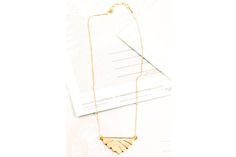 Simple and stunning—Hen Jewelry's Art Deco Necklace is a work of art we get to wear. Art Deco Necklace, Art Deco Jewelry, Life Is Beautiful, Jewlery, Style Me, Arrow Necklace, Chic, Artwork, Stuff To Buy