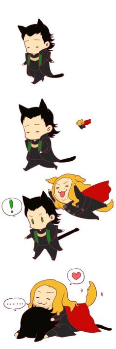 Loki and Thor from Avengers