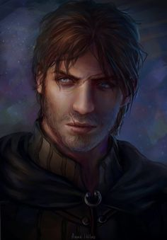 the rogue portrait by AnnaHelme.deviantart.com on @DeviantArt