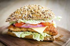 Hamburguesa de queso gourmet