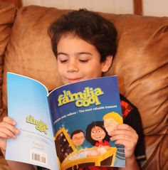 """Our blog tour, went through Growing Up Bilingual and this is what Paula had to say:  """"El Tesoro Mas Valioso / The Most Valuable Treasure"""" approaches the subject of diversity and pride in our cultural heritage from a child's point of view as Abi and Tony Cool are faced with questions about being different at school. #LaFamiliaCool #BookLaunch #TheMosValuableTreasure #BookTour #FirstBook #BilingualBook #MulticulturalKids #MulticulturalLatinos"""