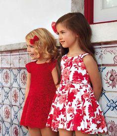 Cute Little Girl Dresses, Dresses Kids Girl, Cute Dresses, Kids Outfits, Little Girl Fashion, Kids Fashion, Little Girl Pictures, Baby Boy Dress, Girl Trends