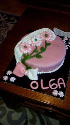 Bolo com flores  #flowers #flowercake #cakedesign #bolos #bolos decorados