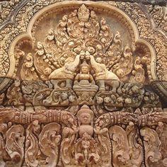 Banteay Srei,Siem Reap,CAMBODIA.