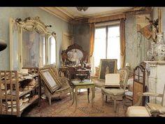 Un appartement inoccupé depuis 1942 a été découvert à Paris - YouTube