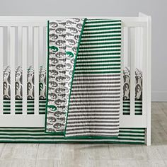Later Gator Crib Bedding  | The Land of Nod