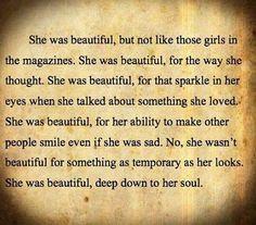 Beautiful soul.
