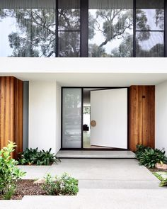 You can find the magnificent exterior design ideas to get your best home. This article will help you to see the best exterior design with a… Continue Reading → Design Entrée, Door Design, Design Ideas, Design Salon, Facade Design, Glass Design, Australian Architecture, Architecture Design, Architecture Interiors