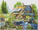 ДОМИКИ, ДВОРИКИ Cross Stitch Patterns, Painting, Art, Cross Stitch, Cross Stitch Landscape, Scenery, Art Background, Painting Art, Kunst