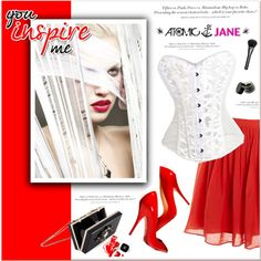 Atomic Jane by janee-oss on Polyvore featuring polyvore, fashion, style, J.Crew, Noir, Gucci, H&M, Chanel and atomicjane