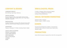 Our Capabilities. We are #inhouse #Advertising & #Branding