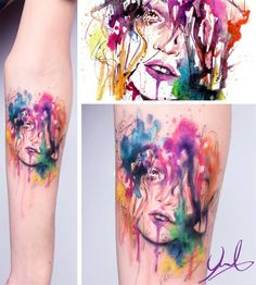 watercolor tattoo | Tumblr