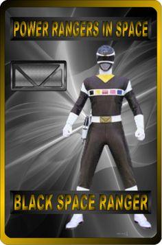Black Space Ranger by rangeranime on Power Rangers Memes, Power Rangers Fan Art, Power Rangers In Space, Power Rangers Toys, Power Ranger Black, Green Ranger, Power Rangers Jungle Fury, Vr Troopers, Power Rengers