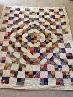 Please helm me identify the name of this quilt I made a long time ... : names of quilts - Adamdwight.com