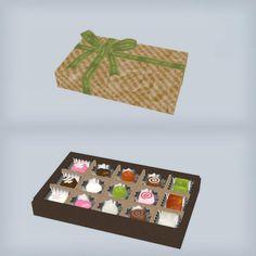 【MMD】包装されたチョコ配布します / 青鬼 さんのイラスト - ニコニコ静画 (イラスト)