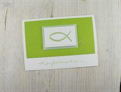 Einladung zur Konfirmation von ★ Carolas Bastelstübchen  ★ auf DaWanda.com