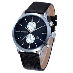 2016 Mens Watches Top Brand Luxury Quartz Watch Casual Leather Sports Wrist watch Montre Homme Male Clock relogio masculino Like if you are Excited!  #shop #beauty #Woman's fashion #Products #Watch