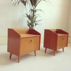 """""""Well you asked for more so here you are! Up on site soon....#vintagebedsidetables"""""""