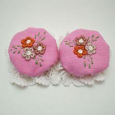 2 Purple Door Knob Covers Crochet Beautiful Handiwork Decorative