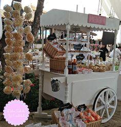mobiliario dulce para venta y renta ,carreta desarmable para su fácil transportación