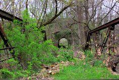 Bridge at The Inn at Irish Hollow in Galena, IL!