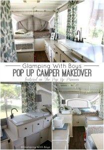 Pop Up Camper Remodel:  Ramie's Pop Up Makeover