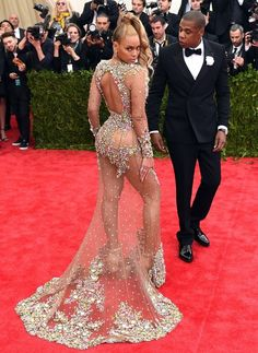 Beyoncé and Jay Z | Here's What The Stars Wore To The 2015 Met Gala