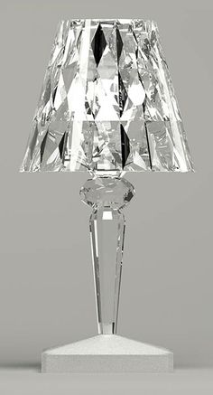 """The Battery LED Table Lamp was designed by Ferruccio Laviani for the Kartell brand. Kartell is a major global representative of the """"Made in Italy"""" label. Interior Lighting, Lighting Design, Interior Exterior, Interior Design, Modern Interior, Design Design, House Design, Silver Sofa, Silver Wallpaper"""