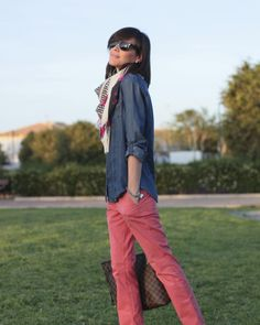 Denim + Coral www.betrench.com