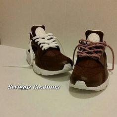 e1eacc7ff6bf Burgandy and white huaraches. swaggz customs
