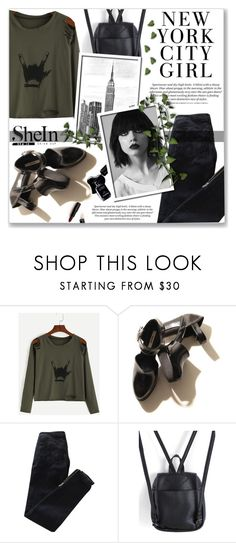 """Shein contest 1"" by azra10 ❤ liked on Polyvore featuring Chanel, Pierre Balmain and H&M"