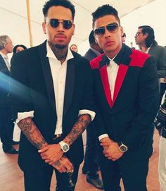 Dope the Movie Screening in Cannes France 2015 with Chris Brown and Quincy