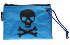 Skull & Crossbones Wristlet   Water Resistant   Gasparilla