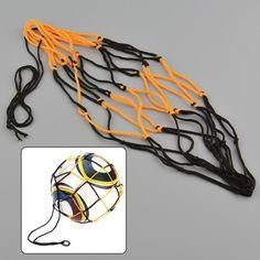 Hot New Portable Nylon Net Bag For Basketball Other Sport Balls Net Overstretches Bag for Single Ball