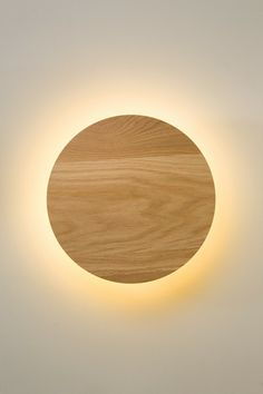 Radient Sconce Oak - Minimal and human, expressive yet subordinate. Pairing…
