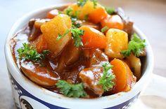 Aan Jeanne`s Keukentafel: Irish Stew