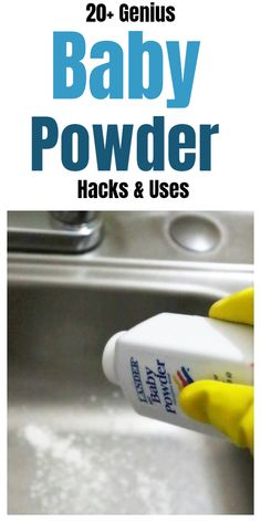 These clever and brilliant bathroom hacks will leave your bathroom smelling amazing.There are lots of cleaning tips and tricks to get the job done out there. These cleaning tips and smell hacks are all time best to make home cleaning easy. Bathroom Cleaning Hacks, Household Cleaning Tips, House Cleaning Tips, Diy Cleaning Products, Cleaning Solutions, Cleaning Rust, Car Cleaning, Cleaning Supplies, Baby Powder Uses