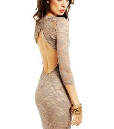 Check out LoveItSoMuch.com to discover unique products like Sexy Open-Back Mini Lace Sleeve Dress.