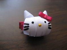 Hello Kitty Ribbon Sculpture